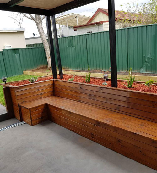 Before-seating bench